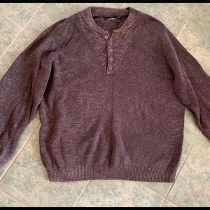 🎀3/$25🎀 Brown sweater.  EUC.  Size 2XLT.